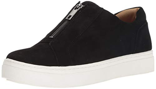 Naturalizer Women's Cyan Sneaker, Black Suede, 10.5 M US