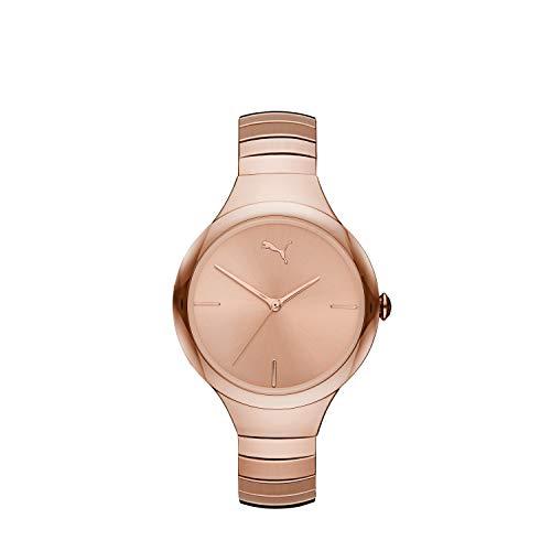 Puma Damen-Uhren Analog Quarz One Size Rosé Edelstahl 32012497