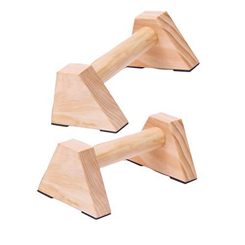 DQDF Barra De Empuje Paralelos Ejercicio Push Ups con Soporte Triangular para Ejercitar Los Músculos Pectorales Brazos Y Hombros,25cm