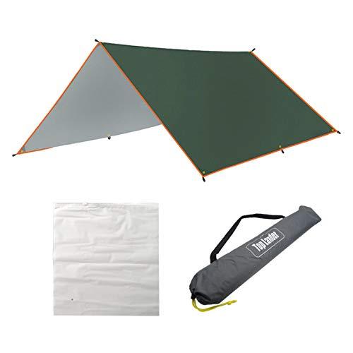 POHOVE Lona impermeable para camping, 118 pulgadas, cubierta de lona para camping, viajes al aire libre, sombra, vela
