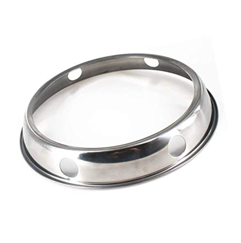Wok Ring, Steel Wok Rack Wok Stand is Suitable for Kitchen Wok, 7.8Inch and 9Inch Reversible Size