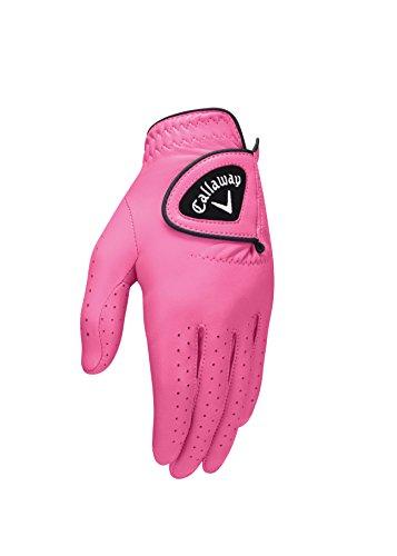 Callaway Damen Opti-Colour Handschuhe, Rose, M