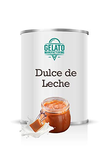 Dulce de Leche - Crema de dulce de leche para vetear helado (lata de 1.3 kilos)