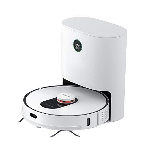 ROIDMI Eve Plus Robot Aspirapolvere e Mop Cleaner con Stazione di Aspirazione Automatica, Raccolta Intelligente della Polvere, Potenza di Aspirazione 2700 Pa, Navigazione Intelligente LDS