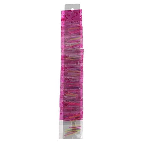 250 piezas de plástico transparente palos hipoalergénicos pernos pasadores barras oreja Piercing retenedor cajas de almacenamiento cartón pequeño