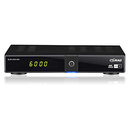 Comag SL65 UHD HD+ Digitaler UHD Satellitenreceiver (4K UHD, HDTV, DVB-S2, HDMI, USB 3.0, PVR-Ready, 2160p, Unicable)