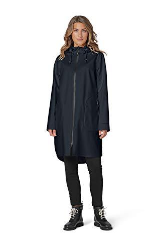 ILSE JACOBSEN HORNBÆK   RAIN128   Regenmantel   Dehnbare Soft-Shell-Material   3-Lagen Komposition   100% Polyester   Schwarz   40