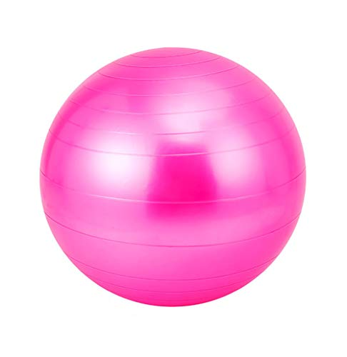 LYzpf Pelota de Ejercicios Bola Gimnasia Asiento Pelota de Gimnasia Deportes Pelotas Ejercicio Aparatos Accesorios para Yoga Equilibrio Fitness Entrenamiento,Pink