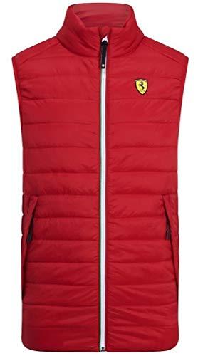 Branded Sports Merchandising B.V. Scuderia Ferrari F1 - Chaleco rojo para hombre (talla L)