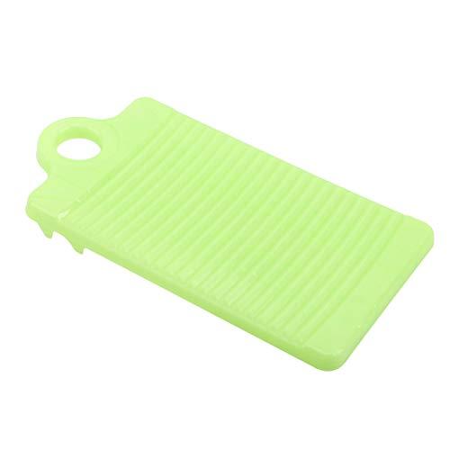 LGJJJ Haushaltswaschtisch Kunststoff Antiskid Mini Waschbrett Verdickung Kleine Handwaschtisch Badezimmer Reinigungswerkzeug,Grün