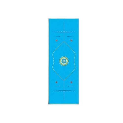 Green HX Allzweck-Yogamatte |Bunte Gummi Yoga Matte 1Mm Anti Slip Faltbare Tragbare Urltra-Light Pilates Trainingsmatten Yoga Matte Abdeckung Fitness Yoga Pad-Schokolade-