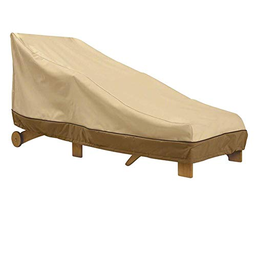 Ardentity beschermhoes voor ligstoel, voor buiten, opvouwbaar, afdekzeil voor ligbed, UV-bescherming, winddicht, waterdicht, 190T Oxford-weefsel (1989084 cm)