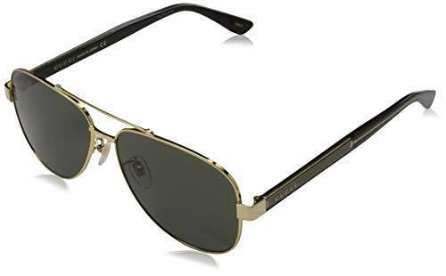Gucci Unisex – Erwachsene GG0528S-001-60 Sonnenbrille, Mehrfarbig, 60