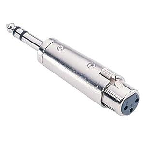 7856 Adapter 6,3 mm Klinke stereo male auf XLR female