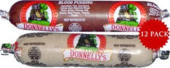 Donnelly Black & White Pudding 12 Pack