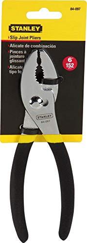 STANLEY Pliers, Slip Joint, 6-Inch (84-097)