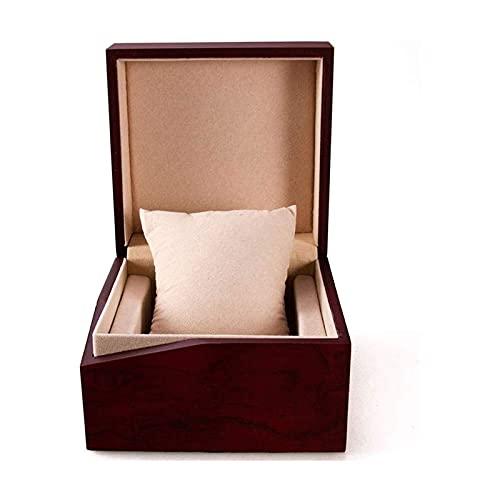 SSHA Joyero Pulsera de joyería de Madera Premium Estuche de Regalo de Almacenamiento Reloj de Rejilla de una Sola cuadrícula Mostrar Caja Reloj Titular Organizador Organizador de Joyas