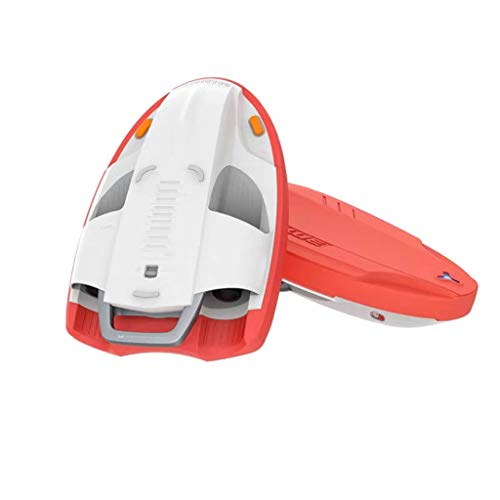 Surfbrett, Electric Power Water Surfboard, Meeressurfen Smart Paddle Water Power Board, geeignet für Jugendliche Wasserpark Surfen,Orange
