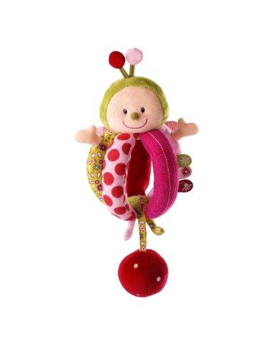 LILLIPUTIENS Liz sonajero - Sonajeros (Multicolor, Niño/niña, 3 Mes(es), 140 mm, 180 mm, 140 mm) (Producto para bebé)