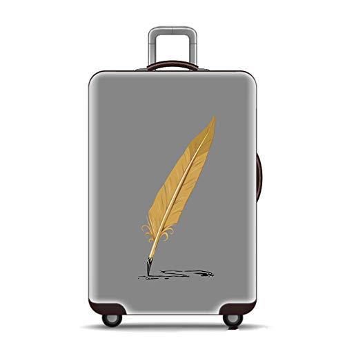 BEDLININGS Fundas para Maletas de Viaje,Cubiertas de Maletas Personalizadas con Equipaje elástico - El Mejor Protector para Engrosamiento de 18-32 Pulgadas (sin Maleta),B,M(22~24inch)