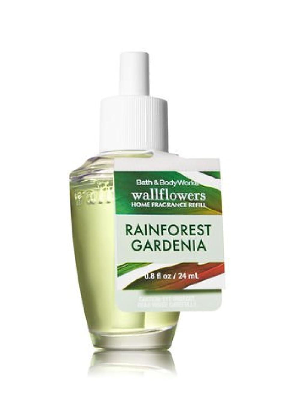アボートアニメーション接地【Bath&Body Works/バス&ボディワークス】 ルームフレグランス 詰替えリフィル レインフォレストガーデニア Wallflowers Home Fragrance Refill Rainforest Gardenia [並行輸入品]