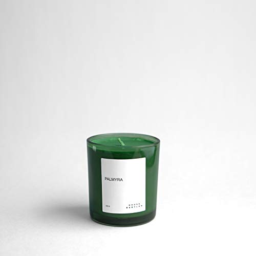 House Babylon Soy-Scented Candle. Palmyra Signature Fragrance, up to 45 Hour Burning Time.