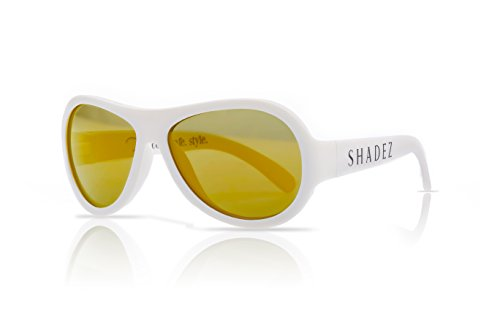 Shadez Lunettes de soleil Blanc Bébé 0-3 ans