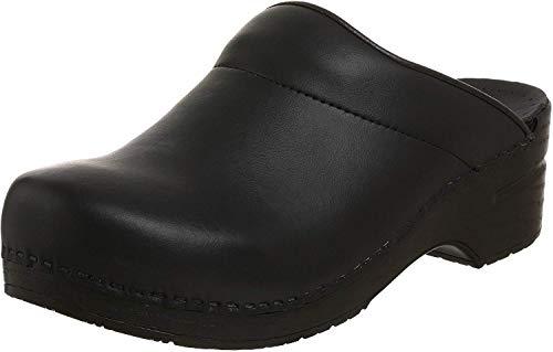 Dansko Karl Box Leather Clog