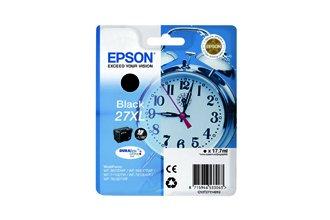 Epson - Cartucho de tinta negra original (C13T27114010, T2711)