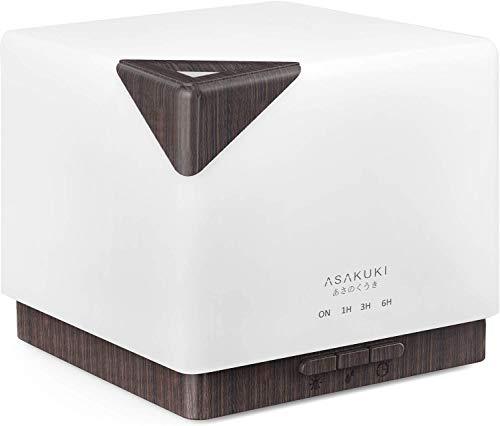 Diffuseur d'huiles essentielles Asakuki 700 ml