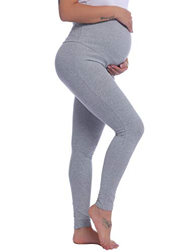 Joyaria Maternity Pregnancy Sweatpants Over The Belly Pants...