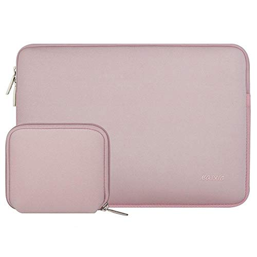Simplicity Laptop Sleeve For Macbook Dell Hp Asus Acer Lenovo 11 12 13.3 14 15 Inch Laptop Bag Case For MacPro 13 15 Notebook Bags (Color : Baby Pink, Size : 15-16 inch)