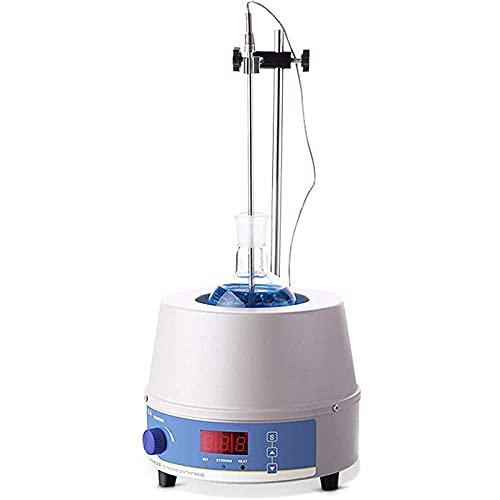 YYFGJCC Magnetic Stirrer Heating Mantle with Intelligent Digital Display,50Hz Temperature Control Heating Mantle Magnetic Stirrer,Suitable for Chemistry Experiment,Scientific Research,School,2000ml