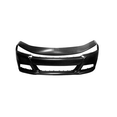 New Front Bumper Cover For 2015-2018 Dodge Charger, For SE/RT/SXT/Police Models, Without Hood Scoop Models, Primed CH1000A24