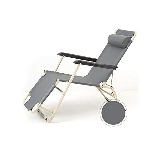 YQQ Chaise Longue Chaise De Pause Déjeuner Fauteuil De Repos Bureau Chaise Pliante 178 * 60 * 98CM