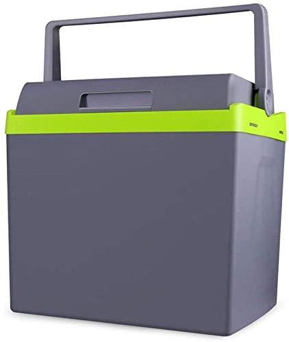 Perfect Zhoumei 25L Car Koelkast Mini verwarming en koeling Box kleine koelkast huis en auto-Dual-purpose koelkast Portable Outdoor Koelkast Hand-held stofzuiger