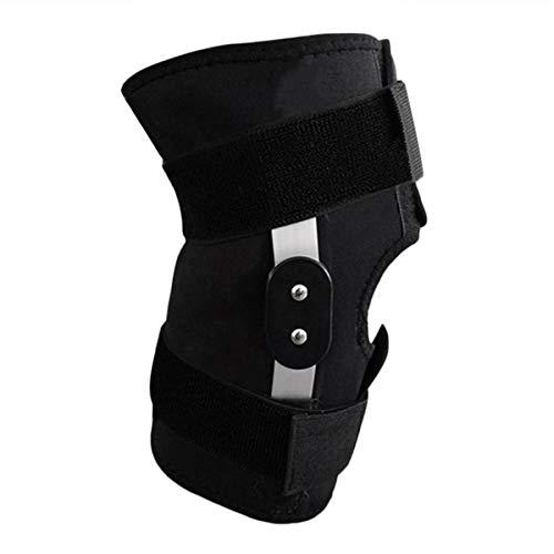 Greatangle Einstellbare klappbare Vollkniestütze Knieschutz Sportverletzung Knieschützer Sicherheitsgurt für Laufen