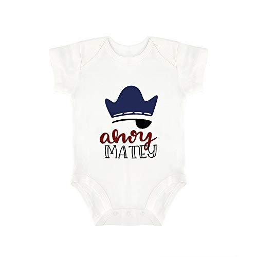 Promini Mono de bebé bebé, de una Pieza, de Ahoy Matey,