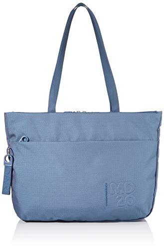 Mandarina Duck Damen MD 20 Handtasche, Mondlicht Blau, Taglia Unica