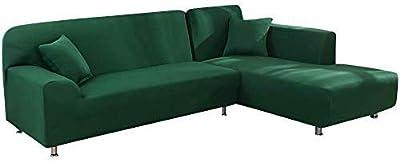 laamei Funda de Sofa Elástica Chaise Longue Brazo Largo ...