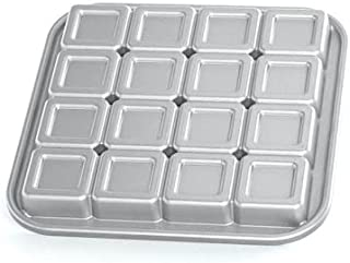 "Nordic Ware Pro-Cast Brownie Bites Pan (Grey 2"" WNL6301)"