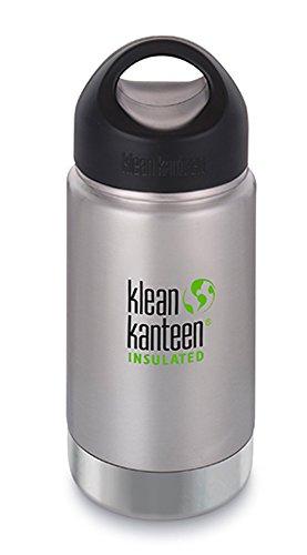 クリーンカンティーン(Klean Kanteen) ワイドインスレートボトル ループキャップ 12oz 355ml ステンレス 19...