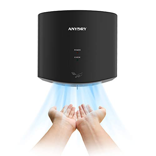 anydryAD2630S Secador de Manos Compacto automático de Alta Velocidad,Comercial y hogar,Cubierta de...