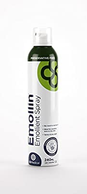 Emollin 50/50 Emollient Spray --- Moisturises & Protects Skin from Irritation and Soreness - 240ml by emollin