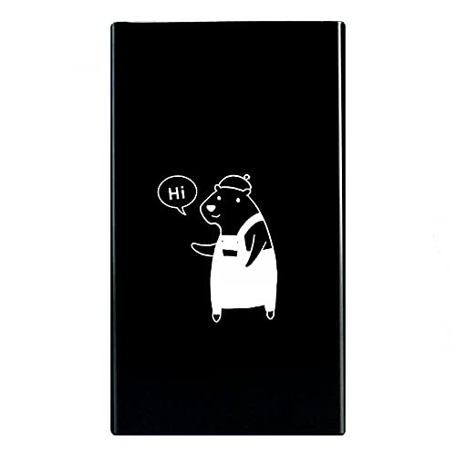 N\C 20 palillos para cigarrillos, diseño creativo, aleación de aluminio, color negro