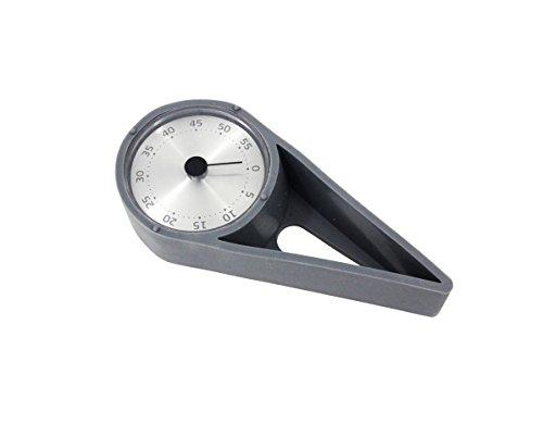 KURZZEITMESSER GRAU Eieruhr Küchentimer Küchen-Wecker Timer Uhr bis 60 min. 55