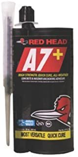 28 oz Red Head A7+ Cartridge w/Nozzle, (Case of 4)