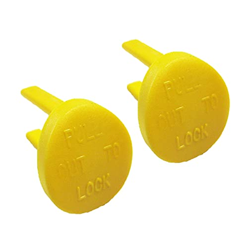 Yellow Switch Safety Key Table Saw Radial Arm Jointer Band Drill able saw, sander, band saw, drill press - Oval (2pcs-pack)