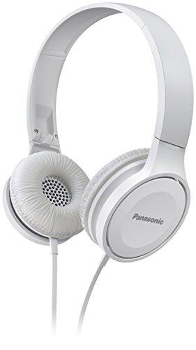 Panasonic RP-HF100ME-W - Auriculares Diadema Cerrados con cable (Microfono y Manos Libres,...