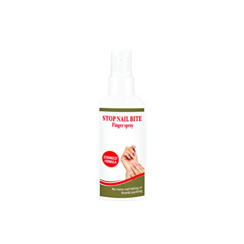 Spray gegen Fingernagelkauen von Stop Nail Bite | 100ml | Spray gegen Fingernägelkauen, Nagelbeißen & Daumenlutschen | Natürliches Spray gegen Fingernägel kauen für Kinder & Erwachsene